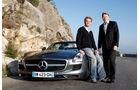 Nico Rosberg SLS AMG Roadster