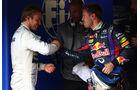 Nico Rosberg - Sebastian Vettel - Formel 1 - GP Monaco - 25. Mai 2013