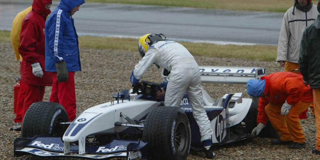 Nico Rosberg Williams Test 2004