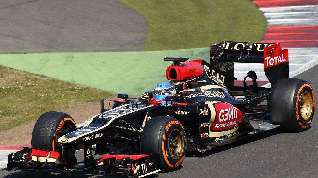 Nicolas Prost - Lotus - Young Drivers Test - Silverstone - 19. Juli 2013