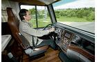 Niesmann+Bischoff Flair 100, Cockpit, Fahrersitz