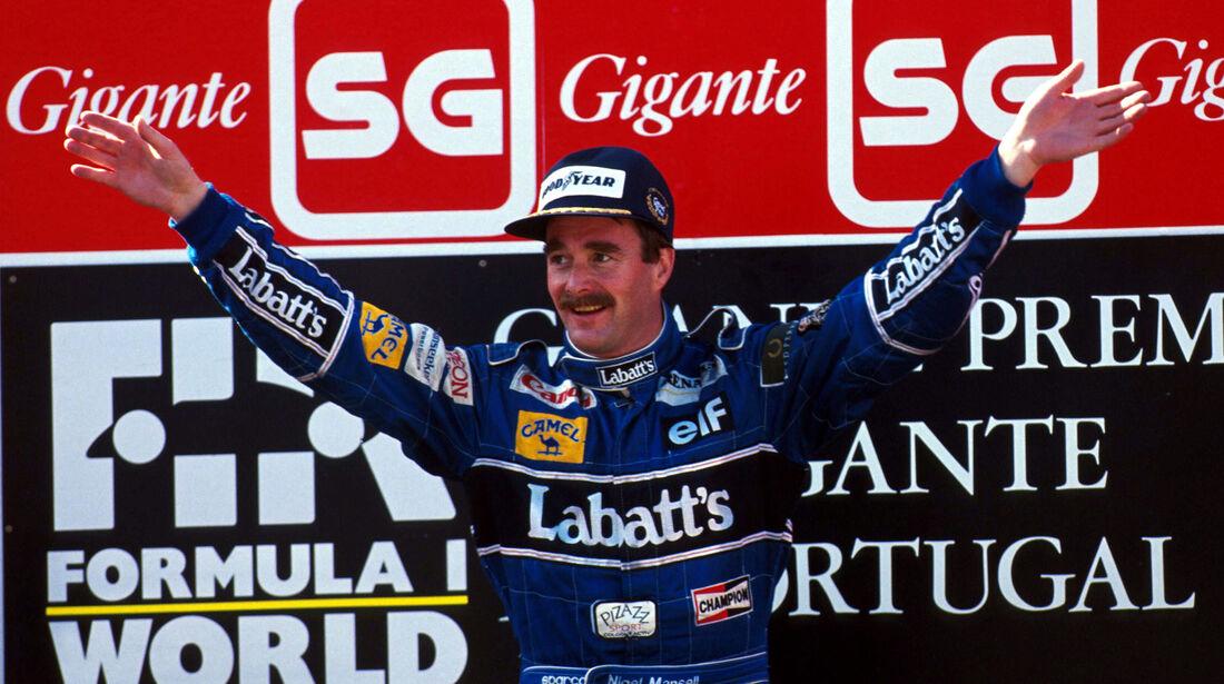 Nigel Mansell - GP Portugal 1992