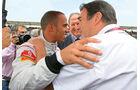 Nigel Mansell und Lewis Hamilton