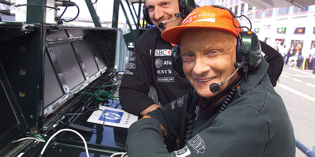 Niki Lauda 2002