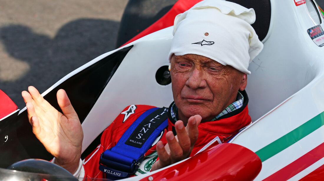 Niki Lauda - Ferrari 312 T2 - GP Österreich 2014 - Legenden