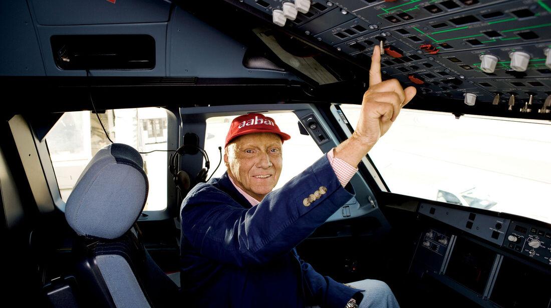 Niki Lauda - FlyNiki Cockpit