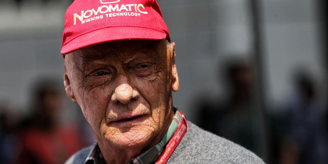 Niki Lauda - Formel 1 - GP Belgien - Spa-Francorchamps - 26. August 2017