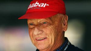 Niki Lauda - Formel 1 - GP China - 13. April 2013
