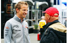 Niki Lauda & Jenson Button - Formel 1 - GP Belgien - Spa-Francorchamps - 24. August
