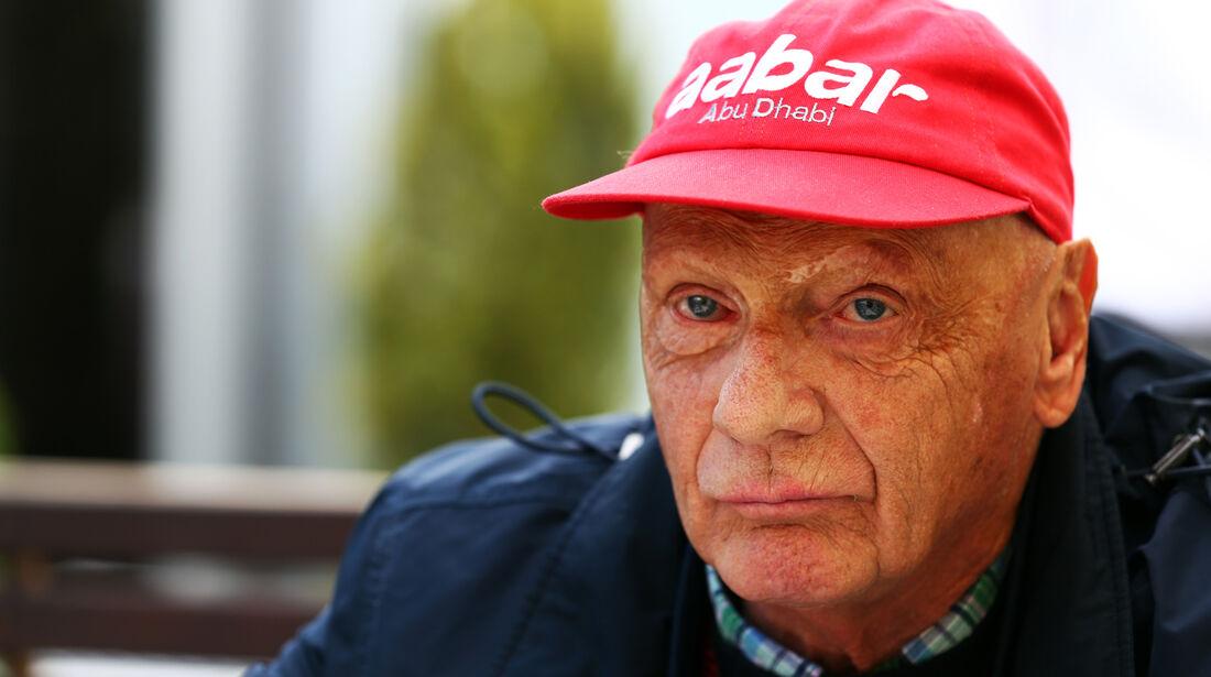 Niki Lauda - Mercedes - Formel 1 - GP Australien - 15. März 2013