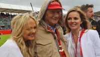 Niki Lauda - Mercedes - GP England 2016 - Silverstone - Rennen