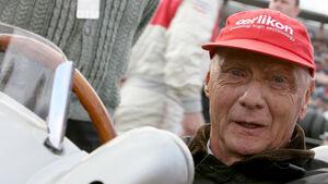 Niki Lauda Silberpfeil