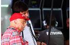 Niki Lauda - Toto Wolff - Mercedes - Formel 1 - GP Indien - 26. Oktober 2013