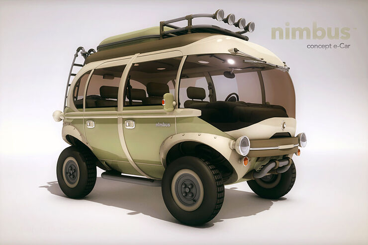 nimbus e car concept elektro suv ist das die offroad. Black Bedroom Furniture Sets. Home Design Ideas