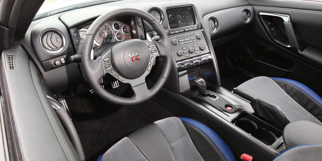Nissan GT-R, Cockpit, Lenkrad