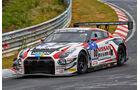 Nissan GT-R GT3 - Nissan GT Academy Team RJN - Startnummer: #80 - Nick Heidfeld, Alex Buncombe, Lucas Ordonez, Florian Strauss - Klasse: SP9 GT3