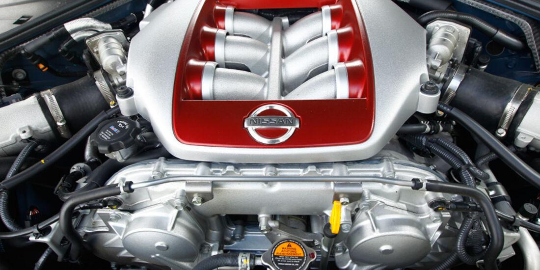 Nissan GT-R, Motor, Detail