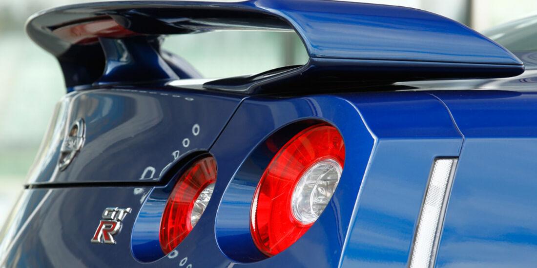 Nissan GT-R, Spoiler, Detail
