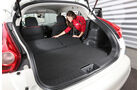 Nissan Juke 1.5 dCi, Rücksitz, Umklappen