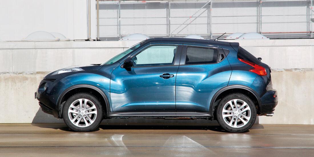 Nissan Juke, Seitenansicht