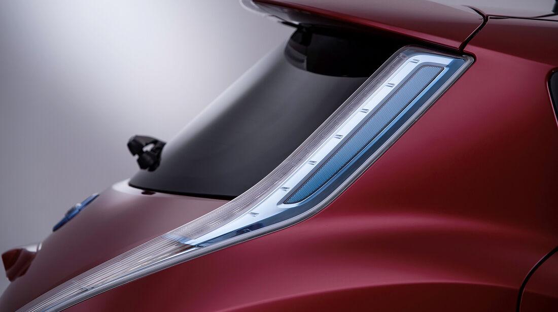 Nissan Leaf, Heck, Rücklicht