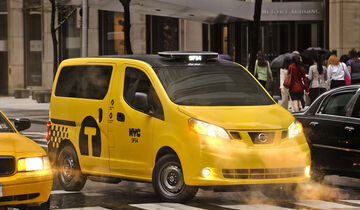 Nissan NV200 Taxi New York 2013