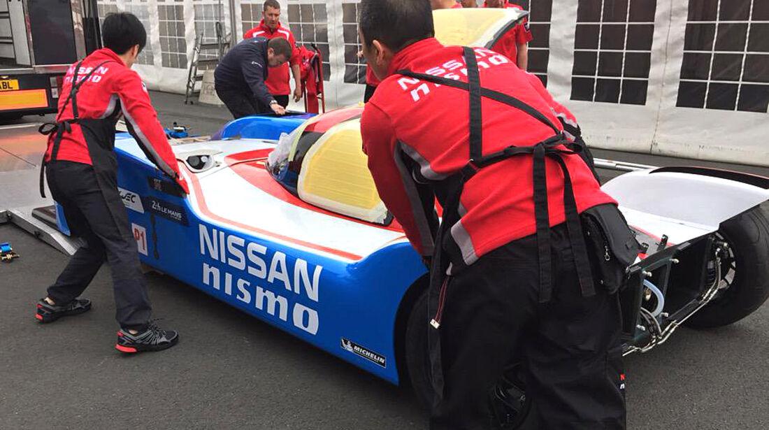 Nissan Nismo - LMP1 - Retro Lackierung - 2015