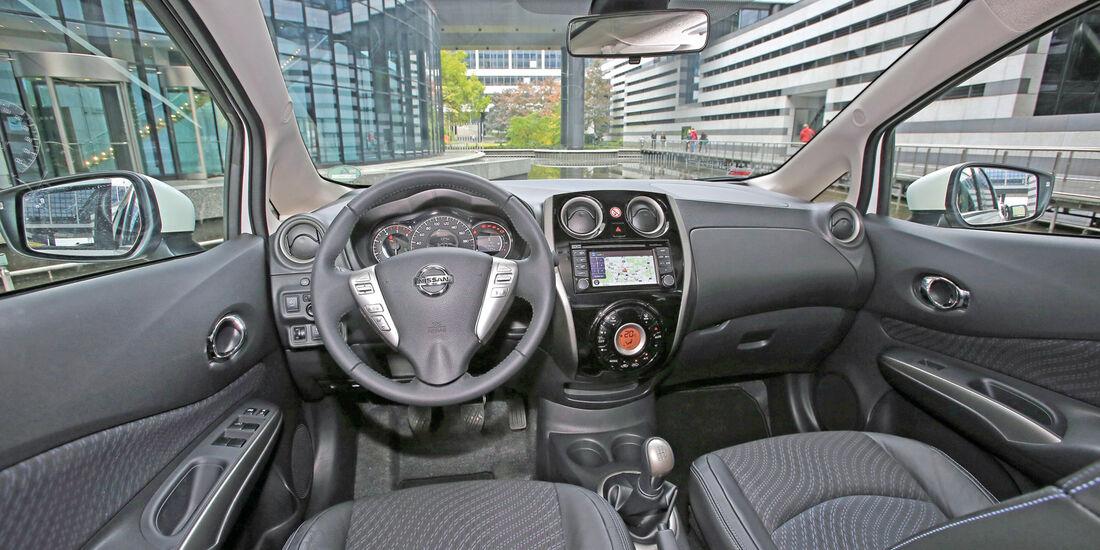 Nissan Note 1.5 dCi, Cockpit