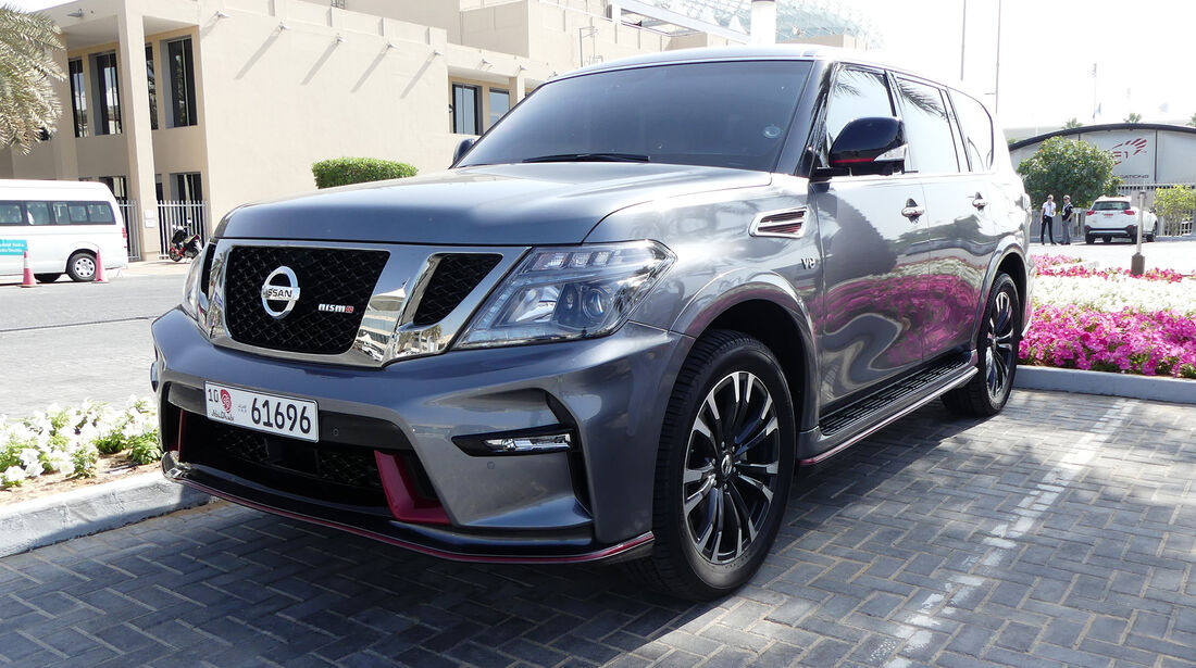 Nissan Patrol Nismo - Carspotting - GP Abu Dhabi 2016