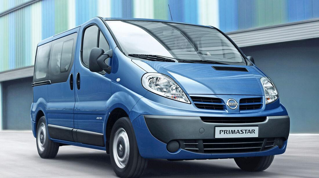 Nissan Primastar, Frontansicht