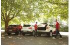Nissan Qashqai 1.6 DCi 4X4, Hyundai Tucson 2.0 CRDi 4WD, Renault Kadjar DCi 130 4X4