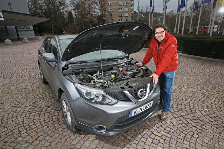 nissan qashqai 1.6dci 4x4 im test - auto motor und sport