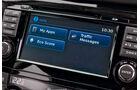 Nissan Qashqai, Anzeige, Infotainment