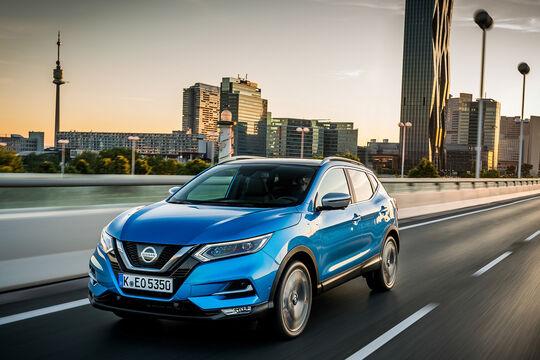 Nissan Qashqai Facelift 2017