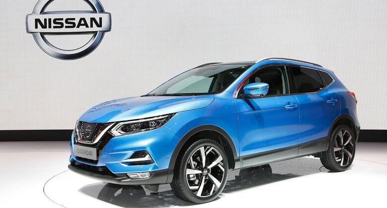 Nissan Qashqai Facelift Genfer Auto Salon 2017