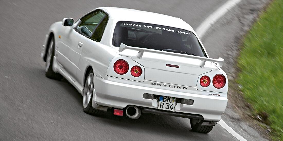 Nissan Skyline, Heckansicht