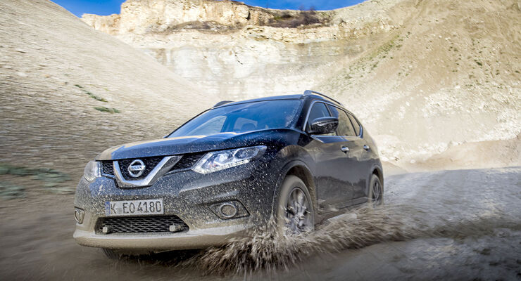 nissan x-trail 2.0 dci automatik im fahrbericht - auto motor und sport