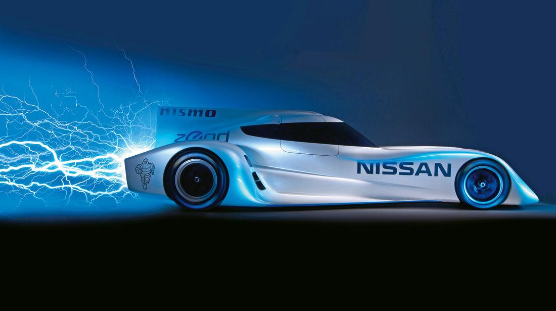 Nissan ZEOD RC, Seitenansicht