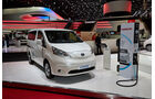 Nissan e-NV200 Elektroauto, Genfer Autosalon, Messe, 2014