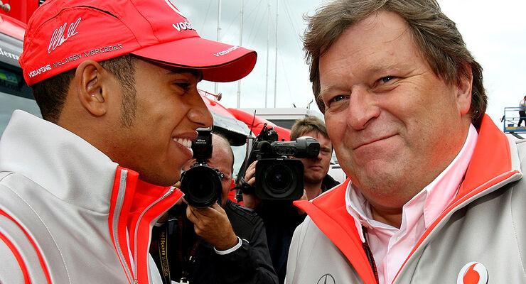 Norbert Haug & Lewis Hamilton