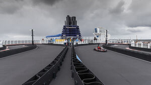 Norwegian Joy Kartbahn