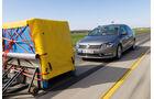 Notbremsassistenten, VW Passat