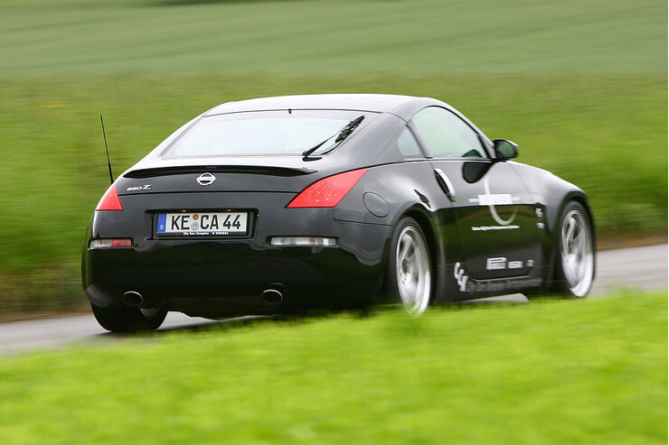 novidem nissan 350z gt s im test auto motor und sport. Black Bedroom Furniture Sets. Home Design Ideas