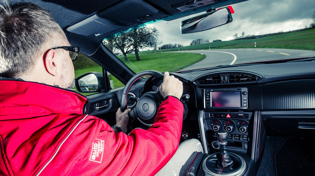 Novidem-Toyota GT86, Cockpit, Fahrersicht