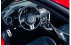 Novidem-Toyota GT86, Cockpit