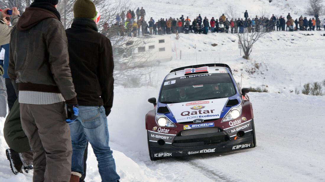 Östberg Ford Rallye Monte Carlo 2013