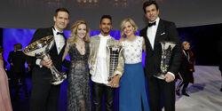 Ogier - Hamilton - Wolff - FIA Preisverleihung - Versailles