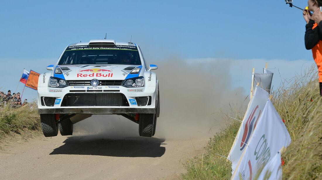 Ogier - Rallye Polen 2014