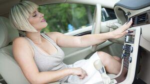Ohne Klimaanlage sind die Temperaturen im Auto oft unerträglich.