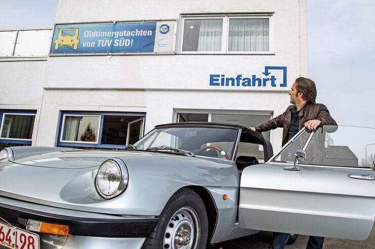 Oldtimer-Gutachten, TÜF Süd, Alfa Romeo, Michael Schröder